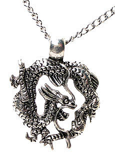 Preview of Dragon Pendant with Necklace.