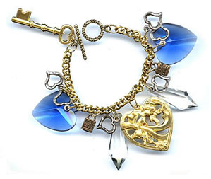 Preview of Love Bracelet (Blue) by Beloved by Sophie.
