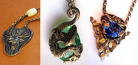 Preview of Vintage Necklaces at Bombalurina's Shop.