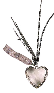 Preview of Crystal Heart Necklace.