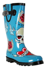 Preview of pirate rain boots.