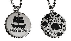 Preview of Kid Pirate Adventure Time! necklace.