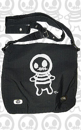 Preview of Zombie Boy Messenger Bag from Kidpirate.com.