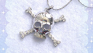 Preview of Skull Necklace @ PanicDoll.com.