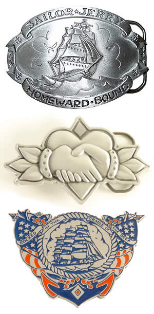Preview of Belt Buckles at SailorJerry.com.