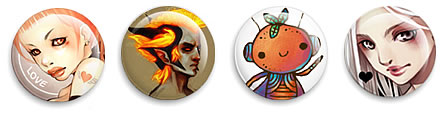 Preview of shuushuu designer buttons.