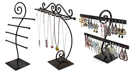Preview of Wrought Iron Jewelry Displays and Organizers.