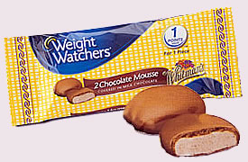 Preview of Weight Watchers chocolate candies.